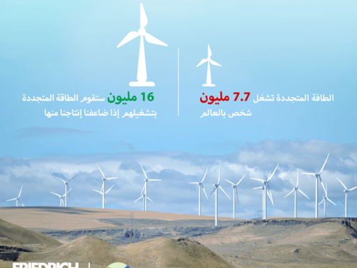 Climate Action Network - Arab World Infographics